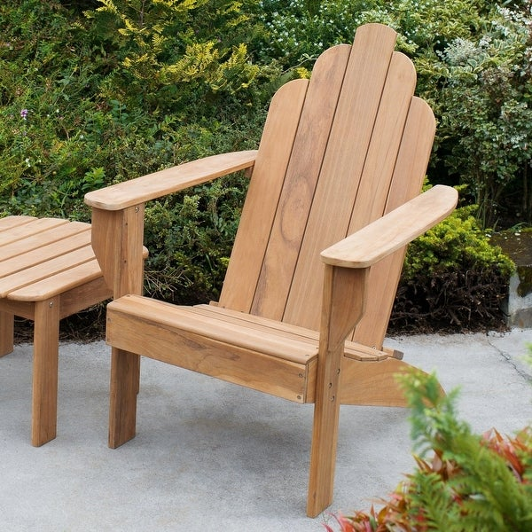 Cambridge Casual Sherwood Teak Adirondack Chair. Opens flyout.