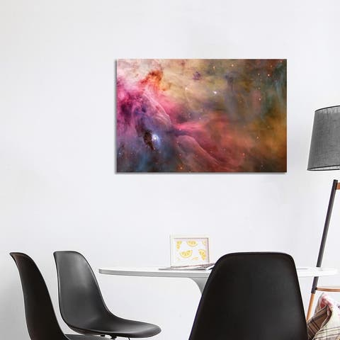 """iCanvas """"LL Orionis Interacting With the Orion Nebula Flow"""" by NASA Canvas Print"""