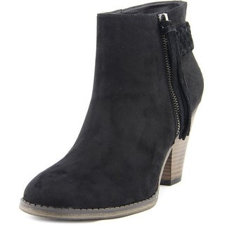 Mia Finnegan   Round Toe Synthetic  Ankle Boot
