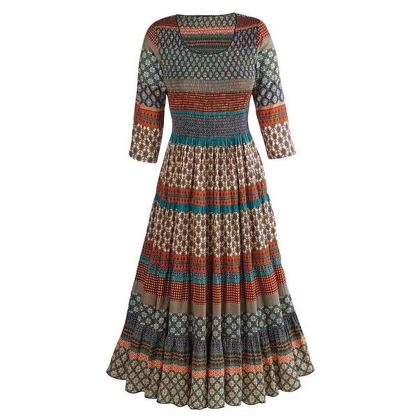 Women's Mohave Desert Dress - Long Maxi Dress