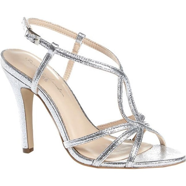00c00636704d96 Shop Pink Paradox London Women s Magic Strappy Dress Sandal Silver Metallic  - Free Shipping Today - Overstock - 17121857