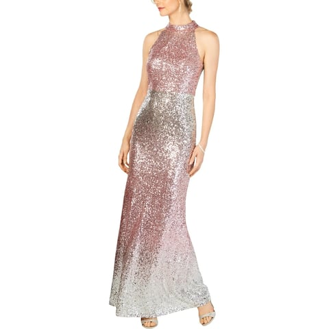 Vince Camuto Womens Evening Dress Sequined Formal