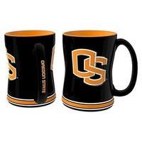 Oregon State Beavers Coffee Mug - 14oz Sculpted Relief