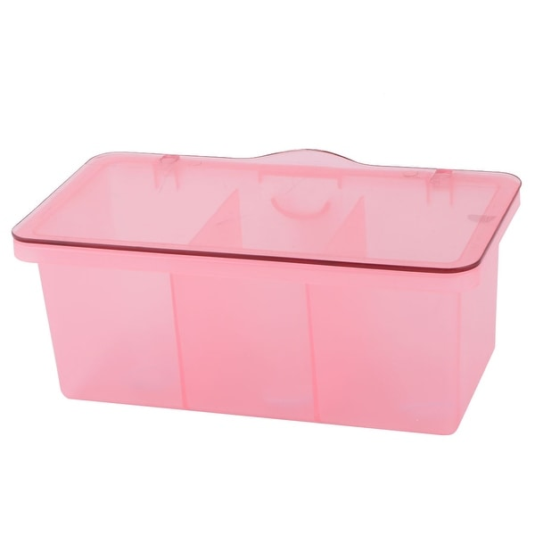 Kitchen Home Plastic Spices Condiment Container Storage Case Box Holder Pink  sc 1 st  Overstock.com & Shop Kitchen Home Plastic Spices Condiment Container Storage Case ...