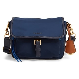Tory Burch Women's Perry Color Block Nylon Crossbody Handbag