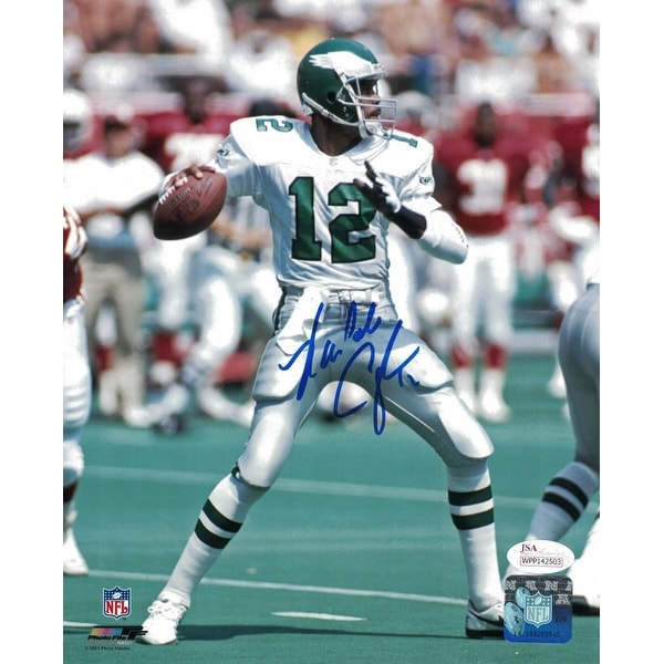 promo code c77ef 9dffe Randall Cunningham Autographed Philadelphia Eagles 8x10 Photo JSA