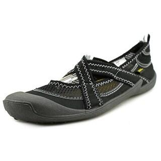 Cudas Shasta Women Round Toe Canvas Black Water Shoe