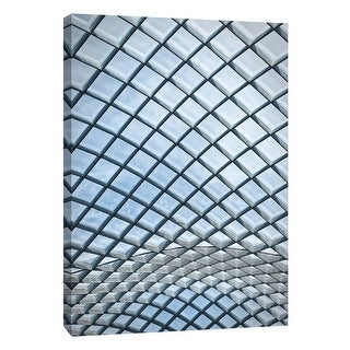 "PTM Images 9-106000  PTM Canvas Collection 10"" x 8"" - ""Kogod Courtyard National Portrait Gallery 3"" Giclee Buildings and"