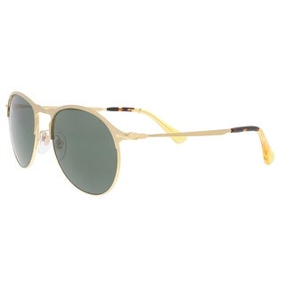 2fc0d43ede Shop Persol PO7649S 106958 Matte Gold Aviator Sunglasses - No Size - Free  Shipping Today - Overstock - 24079683