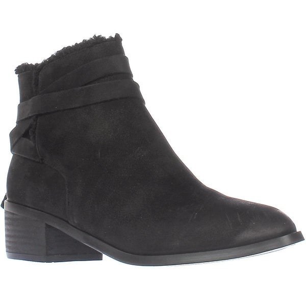 Aldo Mykala Low-Heel Ankle Booties, Black