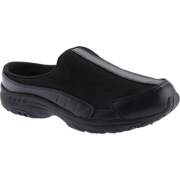 6cf947c6392a Shop Easy Spirit Women s Traveltime Slip-on New All Black Leather ...