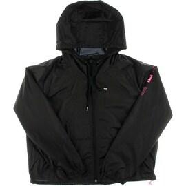 Ralph Lauren Womens Long Sleeves Solid Windbreaker Jacket - L
