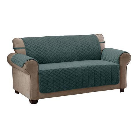 Fairmont Diamond Plush Sofa Furniture Cover