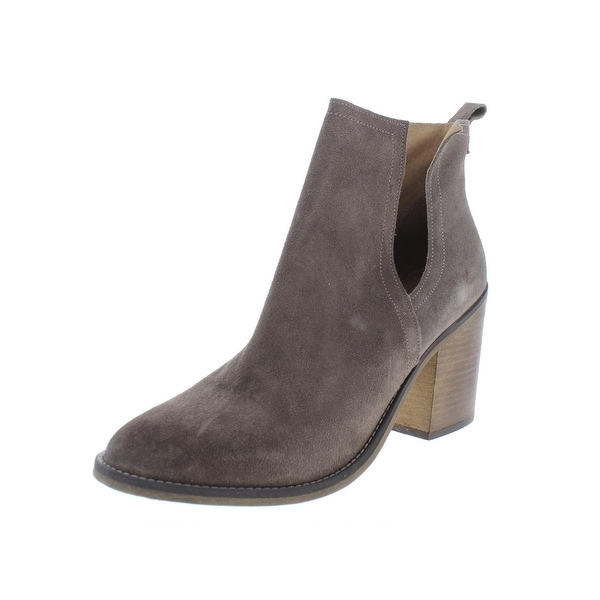 ccda9fc176 Shop Steve Madden Womens Scout Booties Leather High Heel - On Sale ...