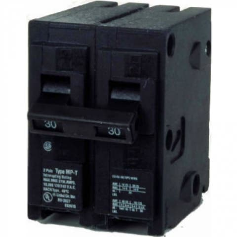 """Murray MP240 Double Pole Circuit Breaker, 40A, 2"""" Space"""