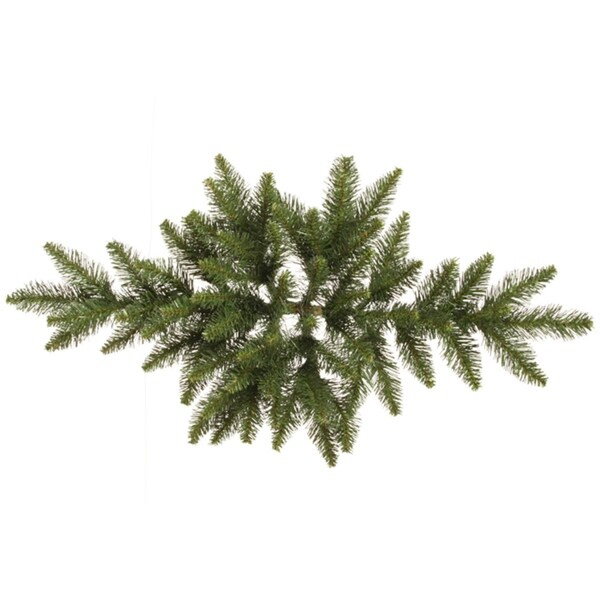 "32"" Camdon Fir Artificial Christmas Swag - Unlit - green"