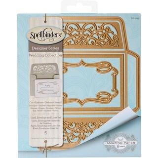 Spellbinders Shapeabilities Dies-Card, Envelope And Liner Set