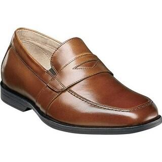 Florsheim Boys' Reveal Penny Jr. Cognac Smooth Leather