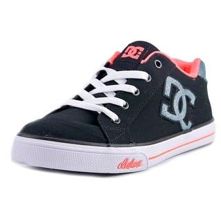 DC Shoes Chelsea TX Round Toe Canvas Skate Shoe|https://ak1.ostkcdn.com/images/products/is/images/direct/97287d0e4f068421485540f6778e18de70deea38/DC-Shoes-Chelsea-TX-Youth-Round-Toe-Canvas-Black-Skate-Shoe.jpg?impolicy=medium
