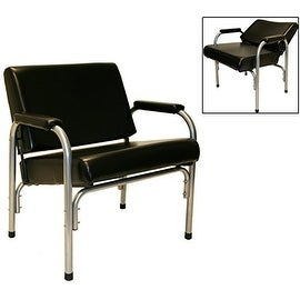 LCL Beauty Plus Line Steel Reinforced Automatic Recline Shampoo Chair