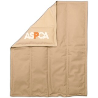 """Taupe - Aspca Solid Reversible Cooling Mat 30""""X24"""""""