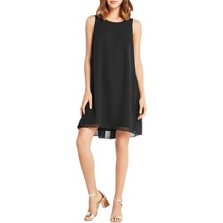 BCBGeneration Womens Babydoll Dress Chiffon A-Line