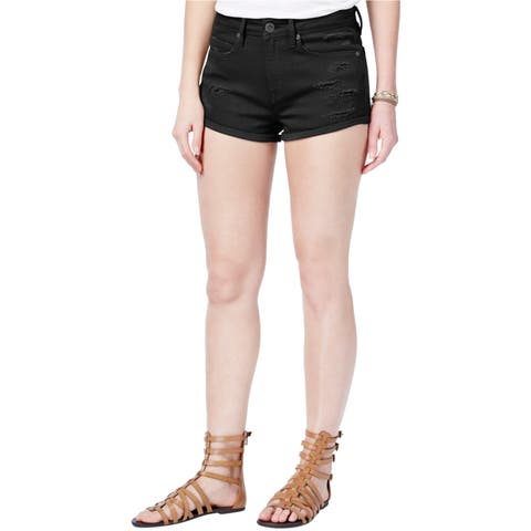 American Rag Womens Ripped Casual Denim Shorts - 13