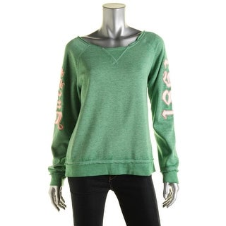 Guess Womens Knit Applique Pullover Sweater - L