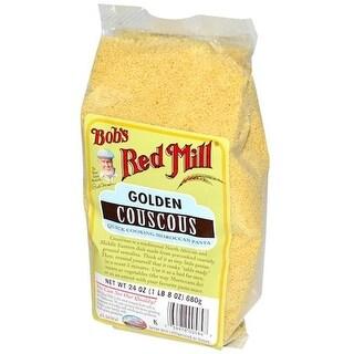 Bobs Red Mill BG11034 Bobs Red Mill Couscous Golden Bulk - 1x25LB