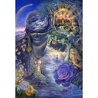 ''Key to Eternity'' by Josephine Wall Fantasy Art Print (36 x 24 in.)