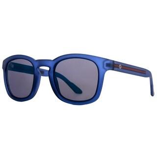 Gg1113S M7D Square Blue Mirror Sunglasses