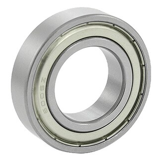 Unique Bargains 25 x 47 x 12mm 6005Z Double Metal Shields Deep Groove Ball Bearing