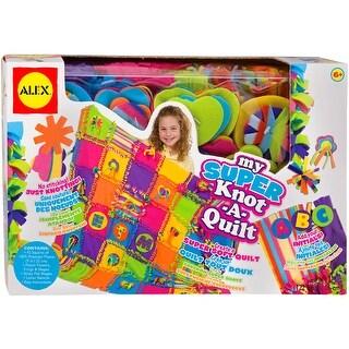My Super Knot-A-Quilt Kit-