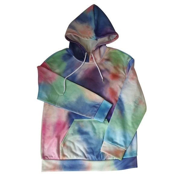 970f9e1f6715 Shop Women s Fashion Casual Loose Long Sleeve Hooded Sweatshirt ...