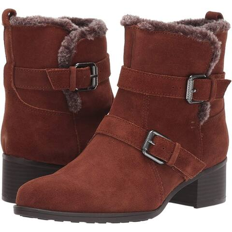 Naturalizer Women's Shoes Deanne Leather Closed Toe Ankle Fashion Boots