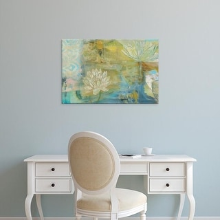 Easy Art Prints Jodi Fuchs's 'Lotus Dream' Premium Canvas Art