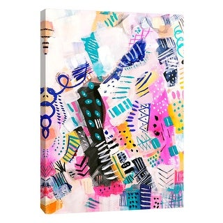 "PTM Images 9-105184  PTM Canvas Collection 10"" x 8"" - ""Abstract Party"" Giclee Abstract Art Print on Canvas"