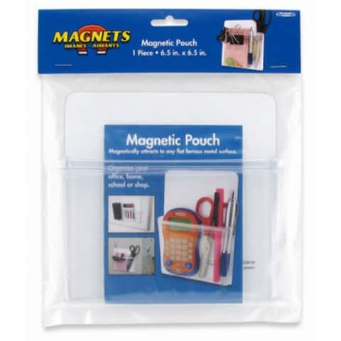 """The Magnet Source 08142 Clear 3D Magnetic Soft Pouch, 6.5"""" x 0.375"""" Thick"""
