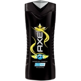 Axe Shower Gel + Shampoo, Jet 16 oz