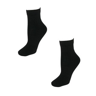 Tilley Women's TA803 Dries Overnight Ankle Travel Sock (Pack of 2)