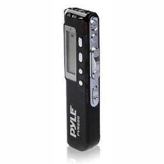 Pyle Audio PYLPVR200B Pyle PVR200 Digital Voice Recorder with 4GB Built-in Memory