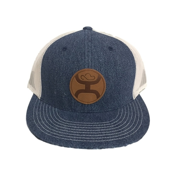separation shoes 8f416 4f627 Shop HOOey Hat Mens Baseball HOOey Durant Patch One Size Denim - Free  Shipping On Orders Over  45 - Overstock - 15415749
