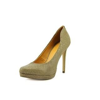 Mia Talia Round Toe Synthetic Heels
