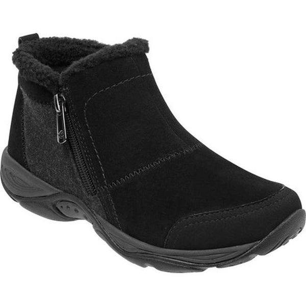 a73774a1781 Shop Easy Spirit Women s Embark Bootie Black Suede - Free Shipping ...