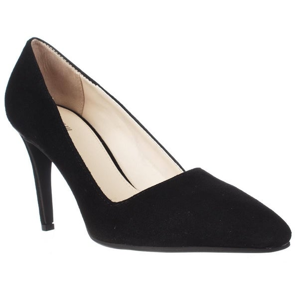B35 Joella Low-Heel Classic Pumps, Black