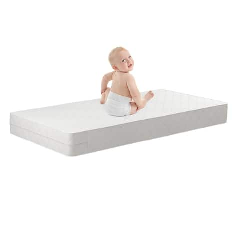 Safety 1st Transitions White Baby or Toddler Mattress