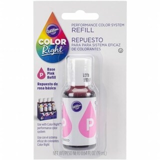 Wilton 153937 Color Right Food Color System Refill - Pink, 0.7 oz.