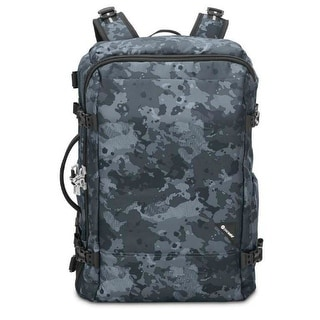 Pacsafe Vibe 40 - Grey Camo Anti-theft 40L carry-on backpack
