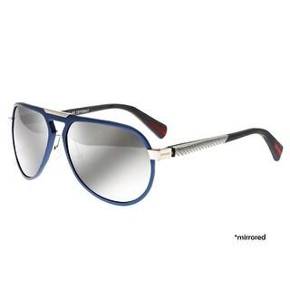 Breed Octans Men's Titanium Sunglasses - 100% UVA/UVB Prorection - Polarized/Mirrored Lens - Multi