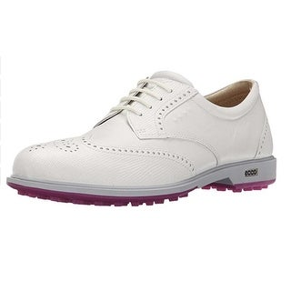 Ecco Womens Classic Golf Hybrid 37 Euro 6-6.5 White/White Golf Shoes